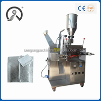 Price Tea bag Packing Machine with thread and tag