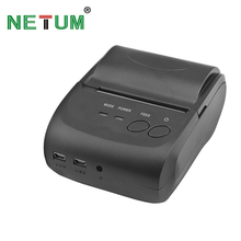 Top selling model: NT-5802DD Bluetooth portable thermal receipt printer 58mm support Android & IOS system