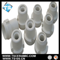 customized design aluminum silicate ceramic sprue cup for foundry