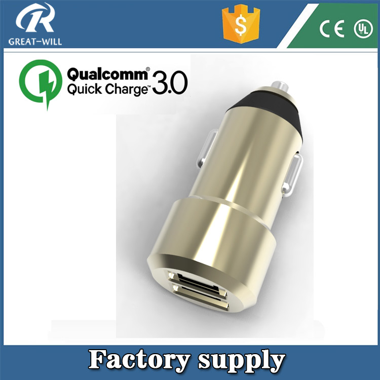 Original CC3PC Qualcomm Certified Quick Charge 3.0 car charger dual usb