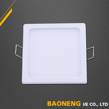 Alibaba Gold Supplier 8W Aluminum Alloy Panel Light LED