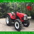 LUTONG 80hp 4WD Wheel Farm Tractor