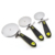 Stainless steel+PP+TPR pizza wheel cutter pizza slicer