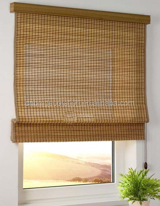 Sun Shade Bamboo Curtain and Mat Roller Blinds