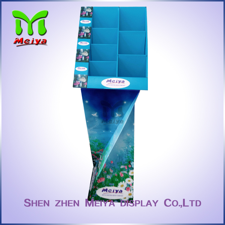 China made high quality custom CMYK printed cigarette retail display by Chinese factory