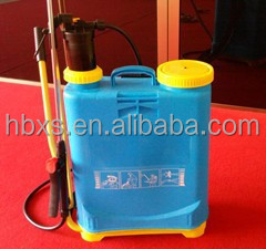 blue color 16L Manual Knapsack Sprayer for agricultural watering machine
