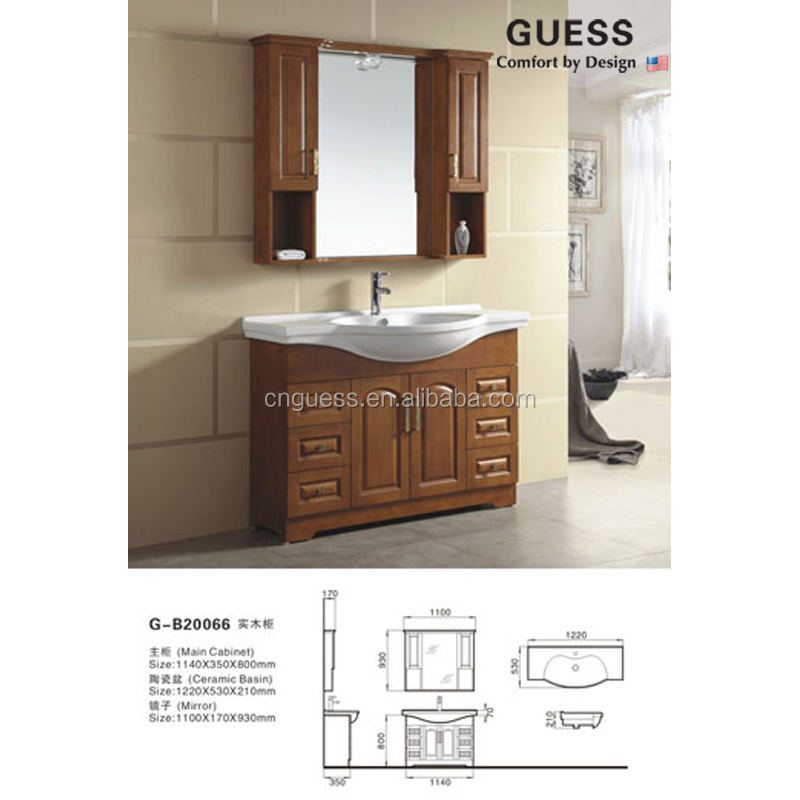 solid wood vanities modern vanity bathroom cabinet g b20066 buy