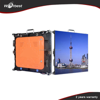 usb flash drive Full Color HD LED Video Display as TV Platform Screen for Rental stage show