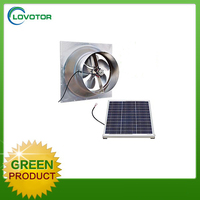 RV use solar power exhaust fan solar panel gable fan