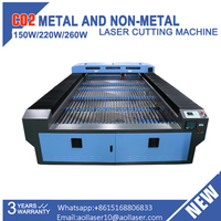 AOL 1530 3 years warranty cnc laser metal steel cutting machine for sale