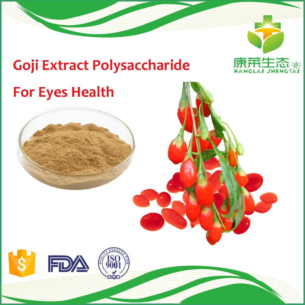 20%~50% lycium barbarum extract powder polysaccharide from Goji Extract improve liver function