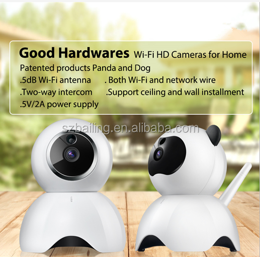 Newest wifi wireless IP camera 1280*720/640*360 OEM/ODM Video Flip IP Camera