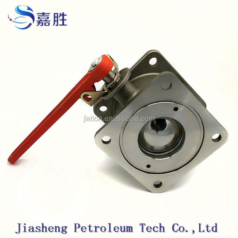 Stainless Steel Square Flanged End ball valve