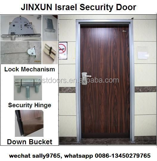 double swing israel security door