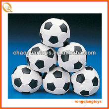 "High Quality! promotion item 3""soft eco-friendly small PVC football toy soccer ball filling polester cotton SP21112216B"
