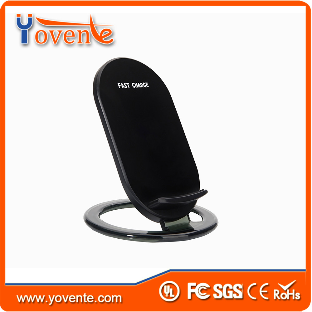 Yovente latest Design products 15W 10mm trasmmition distance fast charging qi wireless charger pad