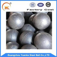 Yuanke Casting Steel Ball For Ball Mill Grinding and Mining Industry