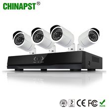 HD IP Cameras 4ch 720P H.264 NVR KIT 4ch cctv nvr system network Security Camera System PST-IPK04CL