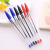 Cheap plastic bic ball pen for promotion