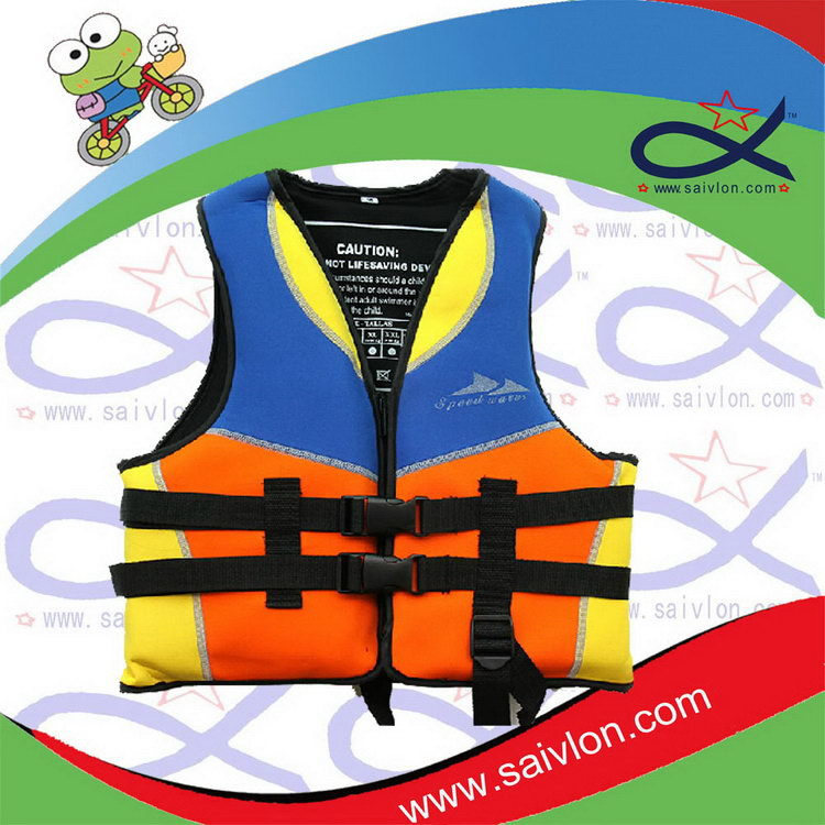 Designer professional waterproof nylon fishing life vest