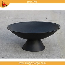easy to use outdoor firepit with stand