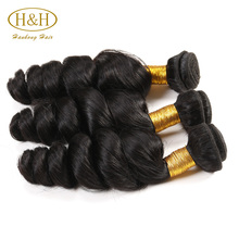 Beauty shining human hair extension 100g/pc DHL 3~5 Days Arrival wholesale malaysian bundle hair
