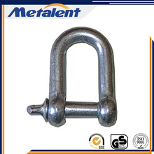 Galvanized standard Eurnpean Dee Shackle forged rigging shackle