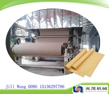 Long working time envelope paper carton box making machine prices, kraft corrugated product machinery paper mill