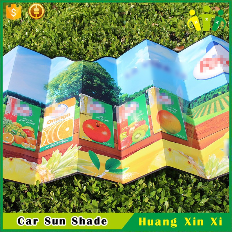High Quality Custom Brand Cardboard Material Car Sun Visor Covers