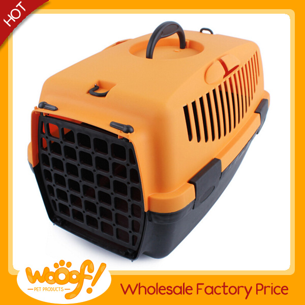 Hot selling pet dog products high quality folding pet carrier plastic