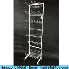 Custom high quality pet store display furniture,dog collar display rack,pet store equipment HL062