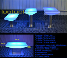 restaurant/livingroom/bar/club 16 color change Led dining table