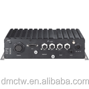 Mobile Computing Solutions/Train PC Intel Atom D525 Fanless Railway Computer with IP65 and EN50155 Conformity