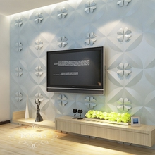 Hot sale good quality elegant Colourful 3d bamboo fiber wall panel for interior decor tv background