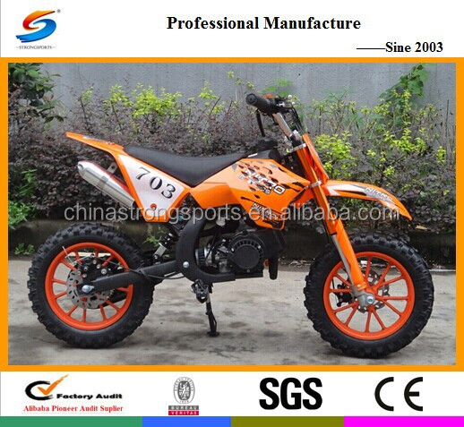 Hot sell motorcycles liquid cooled and 49cc Mini Dirt Bike DB003