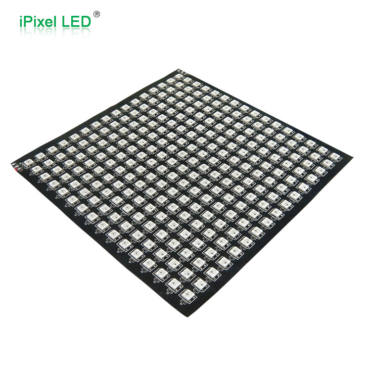 DC5V indoor smd5050rgb use WS2812B led panel 16x16 pixel addressable