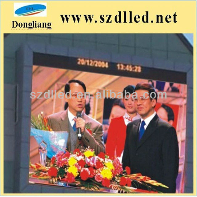 china led screen p10 outdoor full color 1r1g1b true color led billboards display