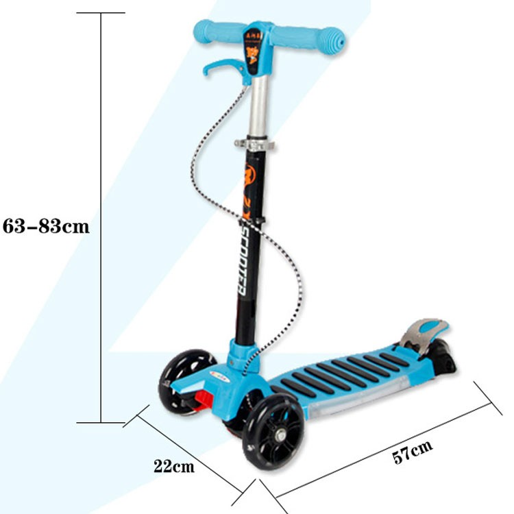 3 Wheel Hot selling High Quality Plastic Baby Kick Scooter