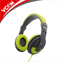 Cheap Price Colorful Computer Headset Long Wired PC Headphone with Mic