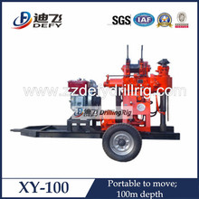 2014 hot sale trailer type soil sample drilling rig for sale