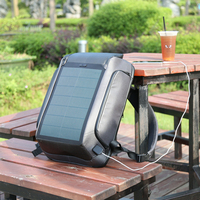 popular water proof usb charging multifunction bag solar battery power bank panel backpack battery solar panels bag