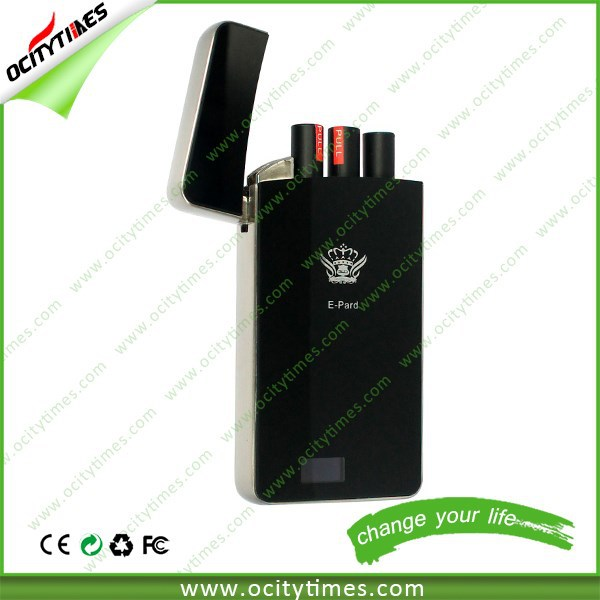 Newest slim disposable e cigarette, metal case pack 510 clearomizer disposable electronic cig