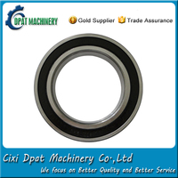 Japan made sealed ball bearing 6207 llu with competitive price