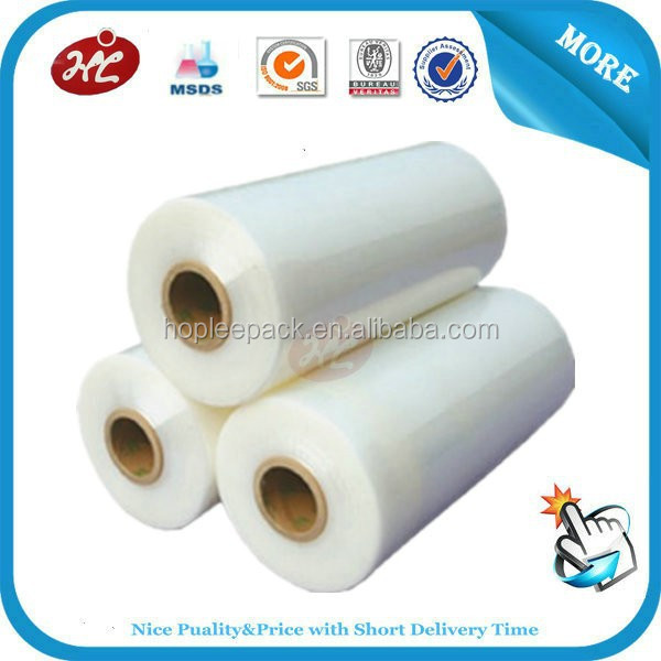 New vergin hand wrap LLDPE stretch film for packing