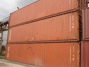 Used containers 20DC, 40DC, 40HC.