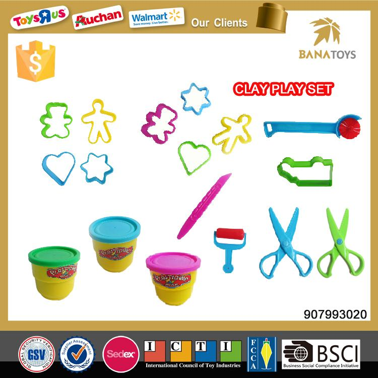 Promotional educational play set polymer clay for <strong>kids</strong>