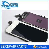 Handphone repair parts for iphone 5 lcd digitizer, cheap for touch iphone 5