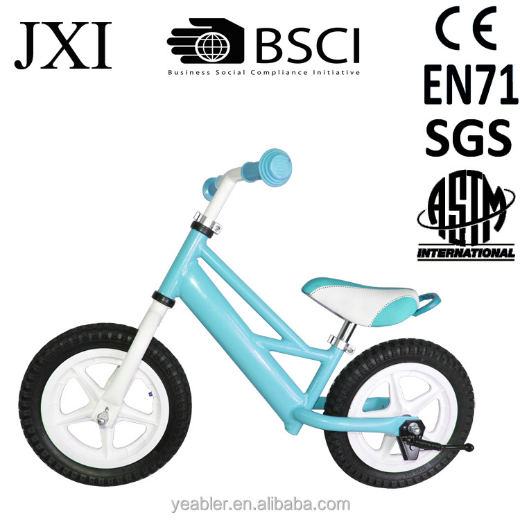 Colorful aluminum boys kids balance bikes classic bike bicycle