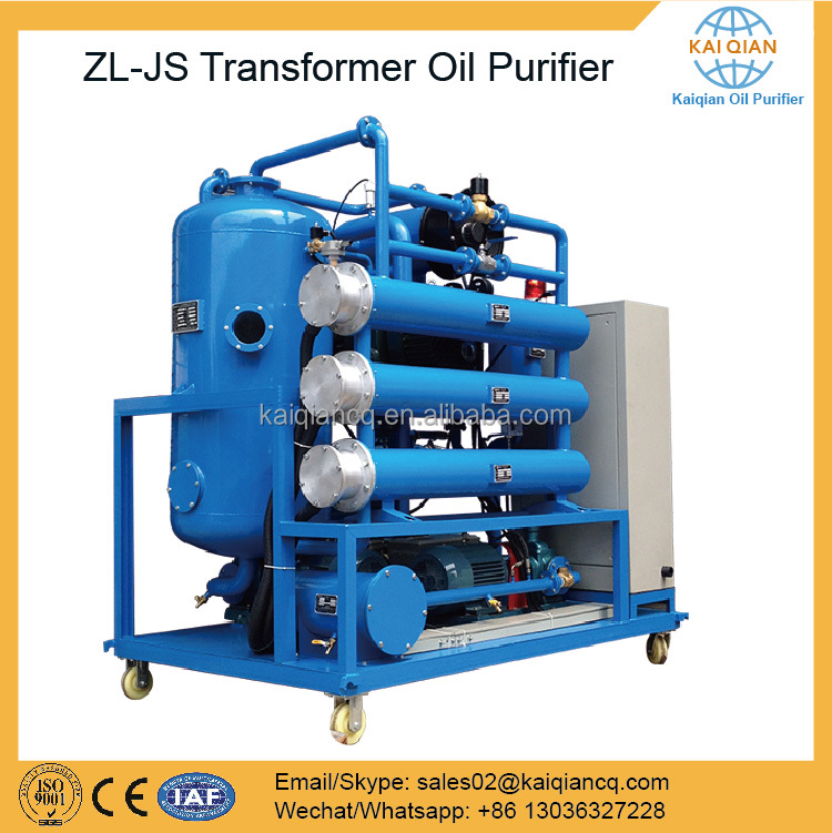 Efficient Vacuum Oil Filter/Transformer Oil Purifier Price