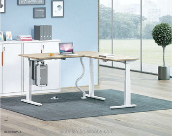Height Adjustable Desk Electric Stand Up Desk Kl3d10w S Buy High